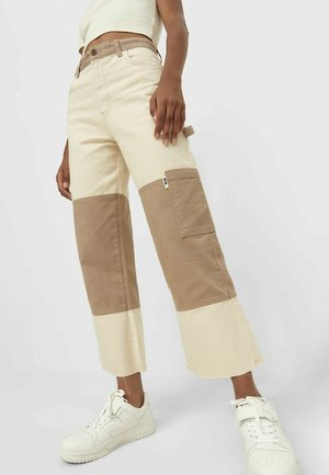 Flared Jeans - stone