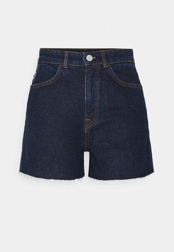 Denim shorts - vintage dark blue
