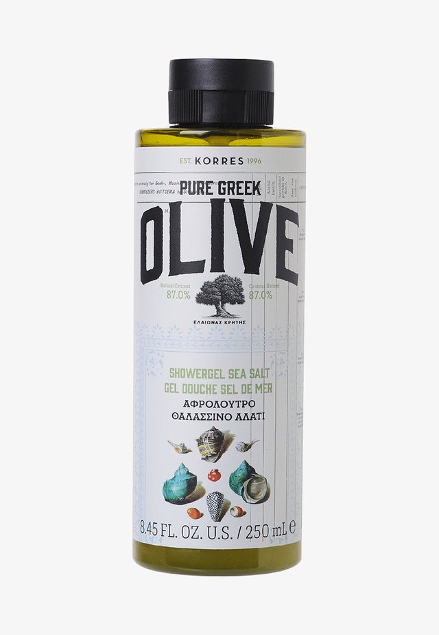 OLIVE & SEA SALT SHOWER GEL - Shower gel - -