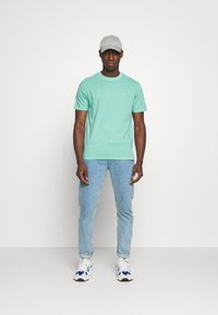 American Eagle - BUTLER TEE EMBROIDERY - Basic T-shirt - mint - 1