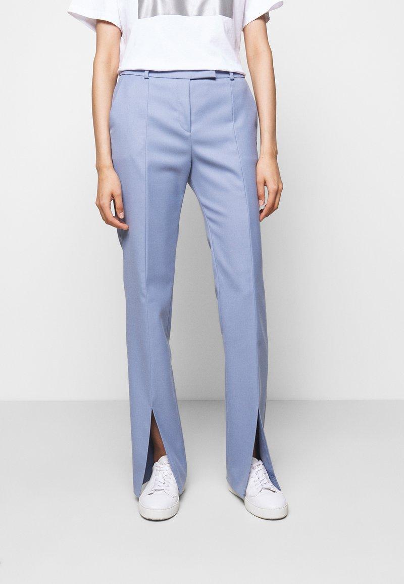 HUGO - HERLENE - Trousers - bright blue