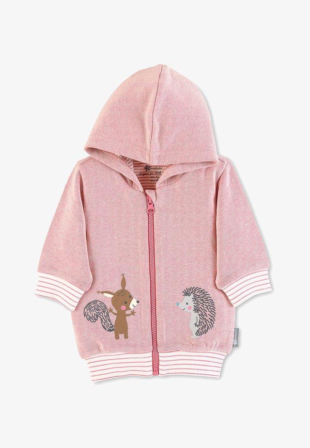 Zip-up hoodie - helllila