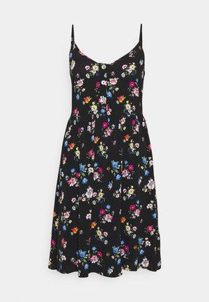Denní šaty - black/multi-coloured