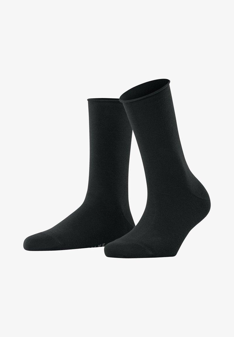 FALKE - HAPPY UNI 2 PACK - Socks - black
