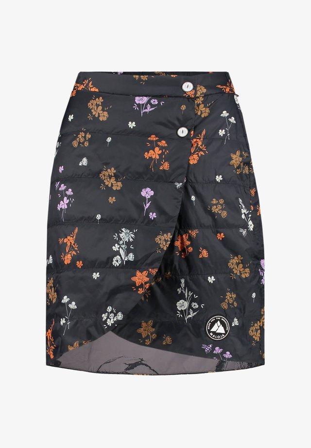 TURBINASCAM - A-line skirt - black