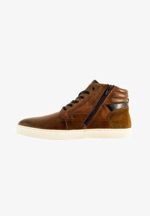 Sneakers hoog - marron