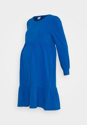 MLCARLY DRESS  - Jersey dress - classic blue