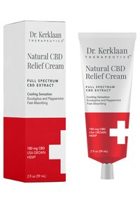 Dr. Kerklaan - NATURAL CBD RELIEF CREAM  - Moisturiser - - - 1