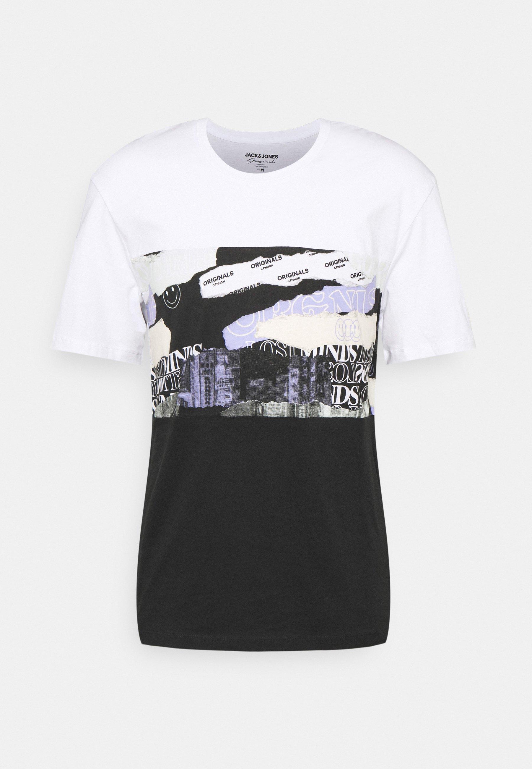 Men JORALLMIND TEE CREW NECK - Print T-shirt
