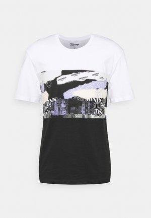 JORALLMIND TEE CREW NECK - T-shirt con stampa - white