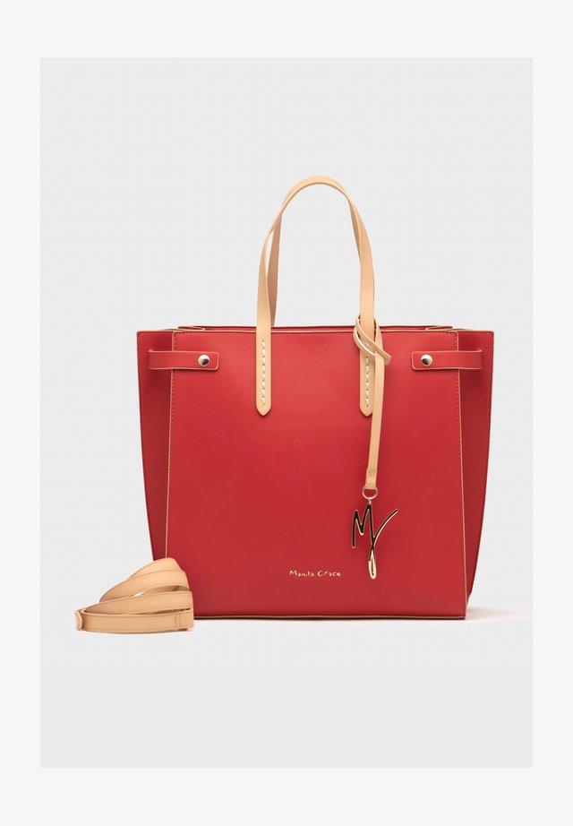 Tote bag - rosso