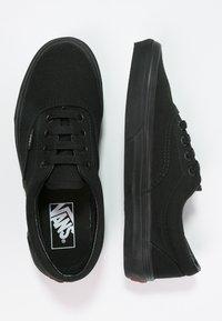 Vans - ERA - Obuwie deskorolkowe - black - 1