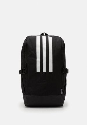ESSENTIALS 3 STRIPES SPORTS BACKPACK UNISEX - Batoh - black/black/white