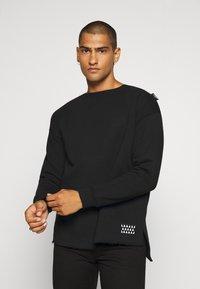 Be Edgy - VALENTIN - Sweatshirt - black - 0