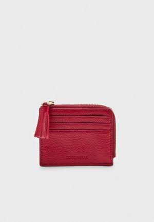 TASSEL WALLET - Peněženka - ruby