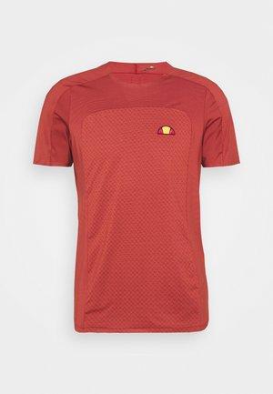 VANETTI TEE - T-shirt med print - dark red