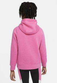 Nike Sportswear - FULL ZIP - Hoodie met rits - pinksicle/white - 2