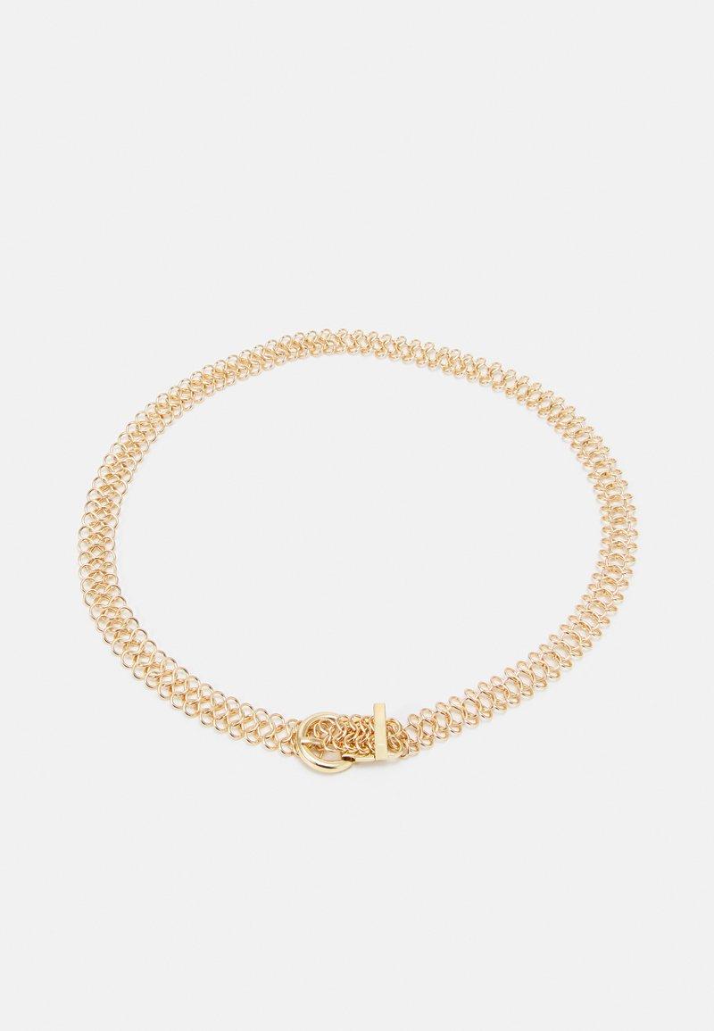 Pieces - WAIST BELT - Midjebelte - gold coloured