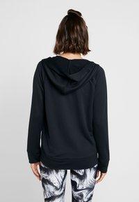 Under Armour - TECH - Zip-up hoodie - black - 2