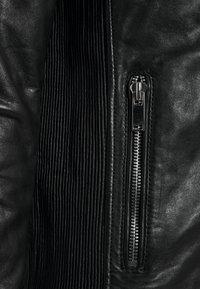 Freaky Nation - SHEEP CHARLY ACTION - Leather jacket - black - 8