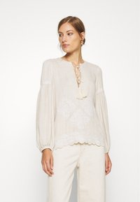 We are Kindred - IMOGEN BLOUSE - Bluser - oatmeal - 0