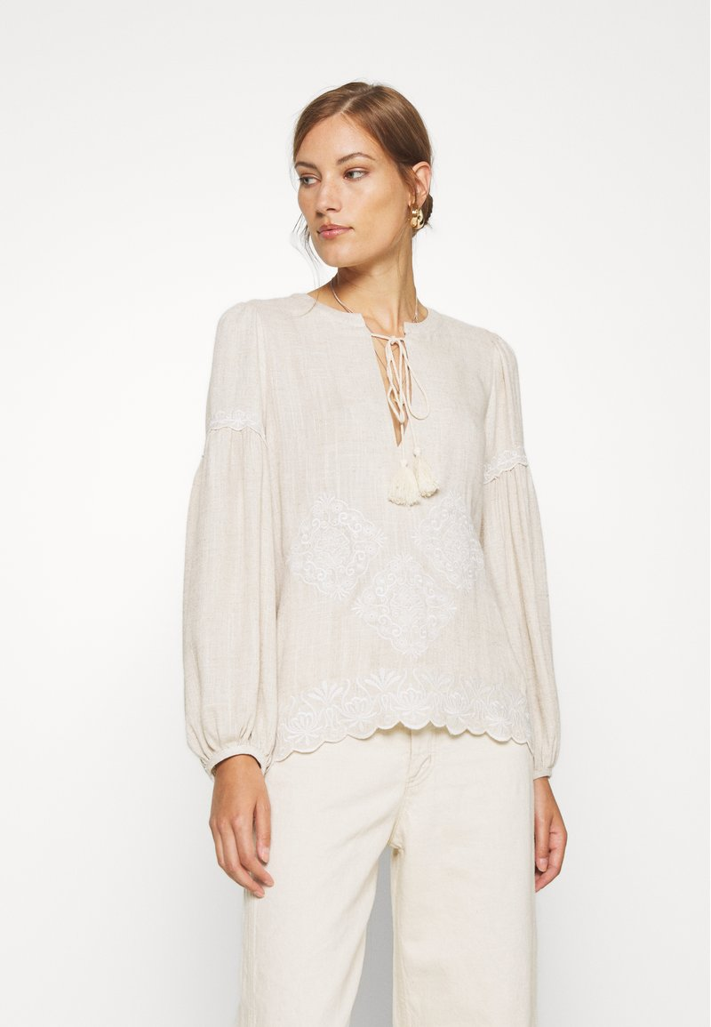We are Kindred - IMOGEN BLOUSE - Bluser - oatmeal