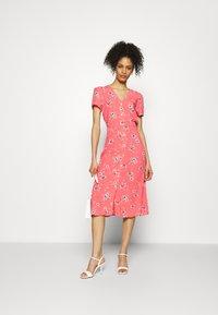 GAP - MIDI DRESS - Day dress - coral - 1