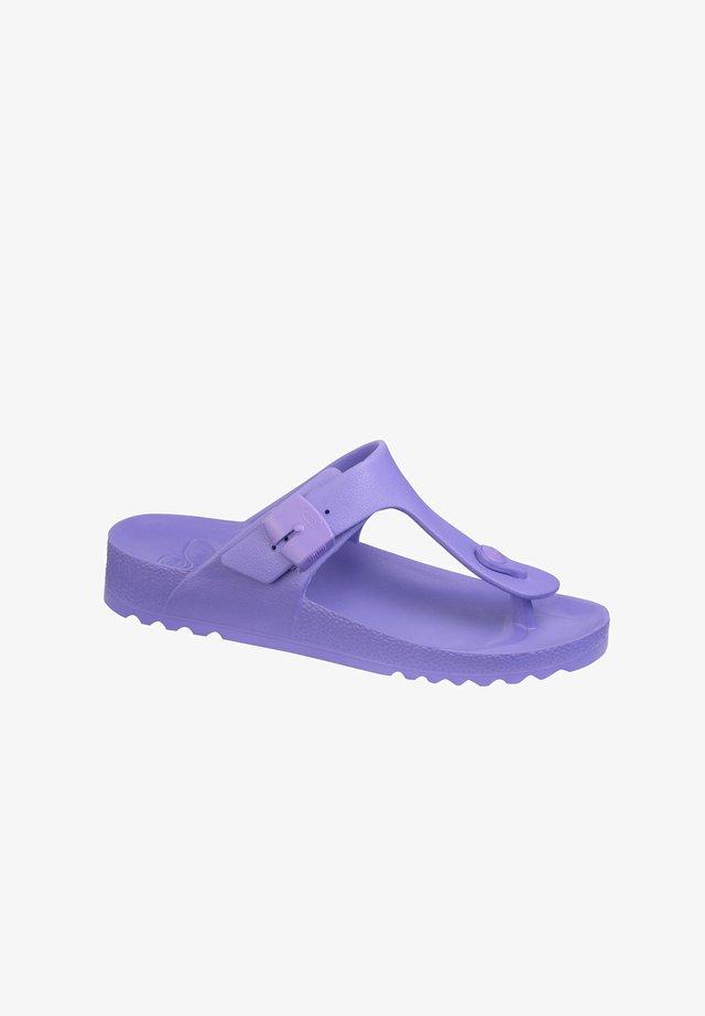 T-bar sandals - violett