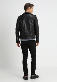 Serge Pariente - ROCKY - Leather jacket - black - 2