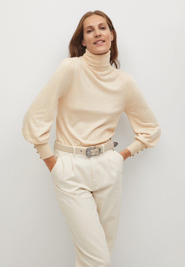 QUEENIE - Sweatshirt - gris clair/pastel
