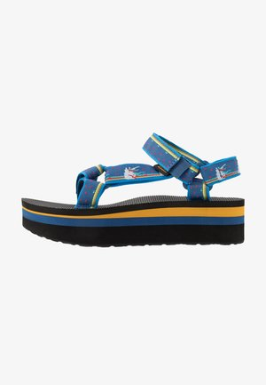 FLATFORM UNIVERSAL WOMENS - Walking sandals - dark blue
