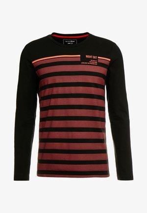 longsleeve - Langarmshirt - tawny port red