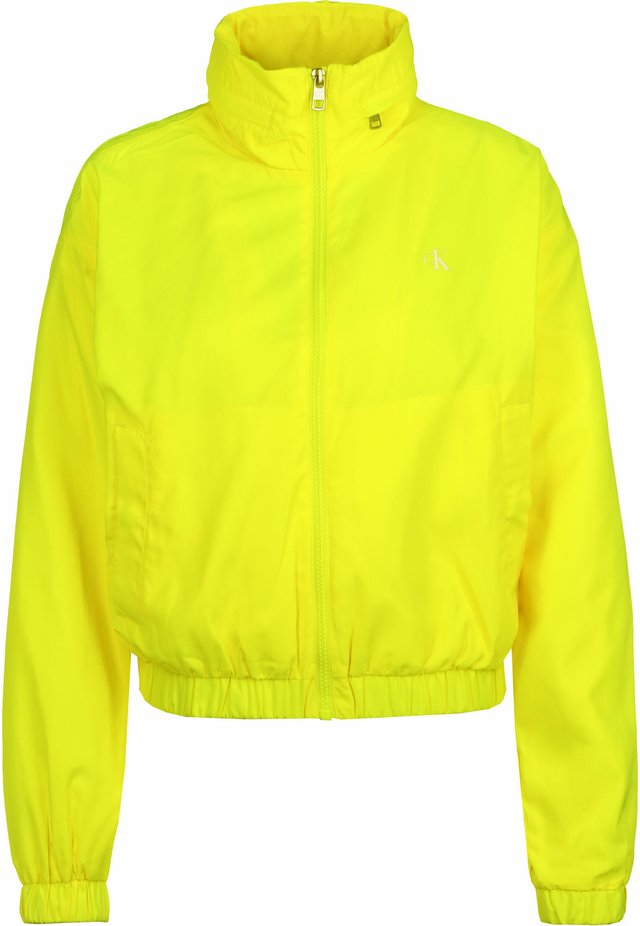 BACK LOGO - Windbreaker - yellow