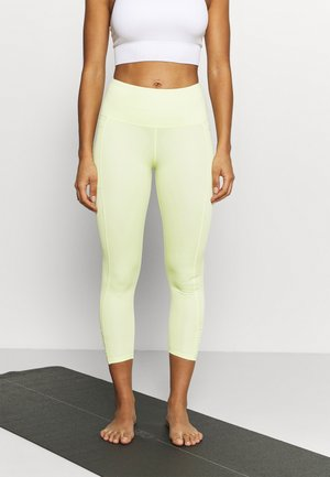 LOVE YOU A LATTE 7/8 - Leggings - lemonade