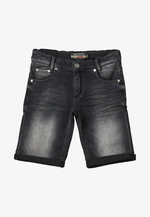 BOYS BASIC - Denim shorts - black medium
