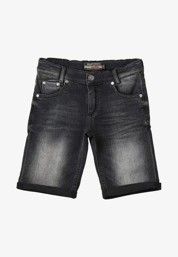 BOYS BASIC - Denim shorts - black medium