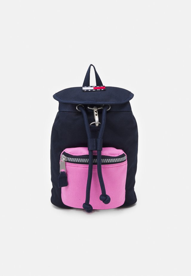 HERITAGE FLAP BACKPACK - Batoh - pink