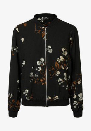 BLUMEN - Bomber Jacket - black