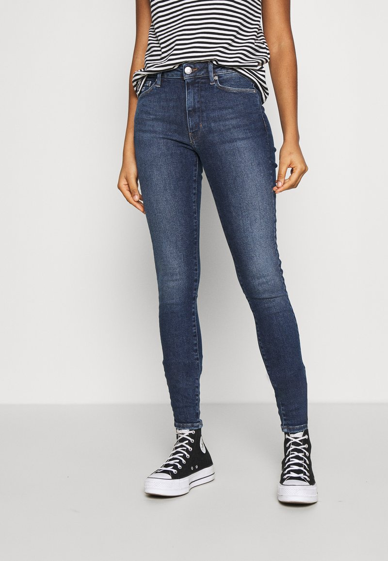 Tommy Jeans - SYLVIA SUPER - Jeans Skinny Fit - lund dark blue