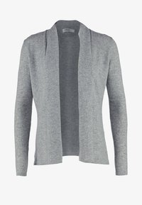 Zalando Essentials - CASHMERE - Cardigan - light grey melange - 4