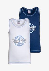 Jacky Baby - 2 PACK  - Undershirt - blue - 0