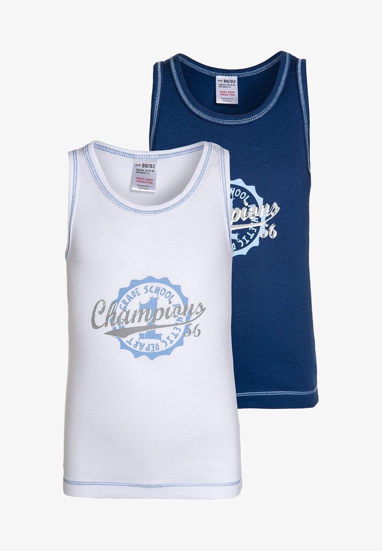 Jacky Baby - 2 PACK  - Undershirt - blue