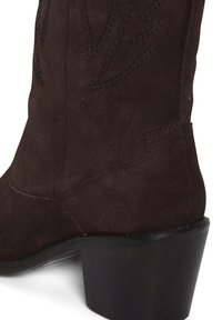 ICHI - Cowboy/biker ankle boot - cappuccino - 4