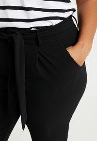 Even&Odd Curvy - Trousers - black - 5