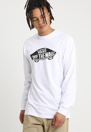 LONG SLEEVE - Langarmshirt - white/black