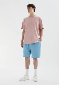 PULL&BEAR - Shorts - light blue - 1