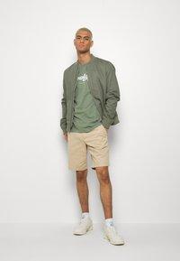 KnowledgeCotton Apparel - ALDER BIG TEE - T-Shirt print - mottled green - 1