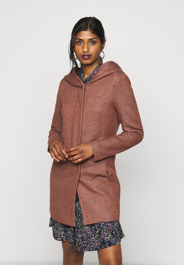 ONLSEDONA LIGHT COAT PETITE  - Short coat - chocolate fondant melange