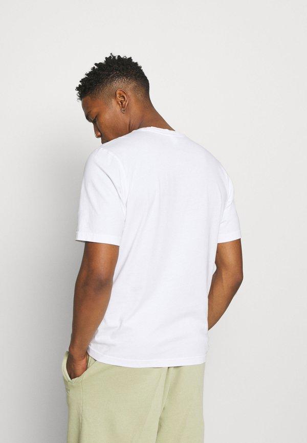 Reebok Classic SOFT EDGE LINEAR TEE - T-shirt z nadrukiem - white/biały Odzież Męska AMER