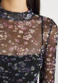 Lee - PRINTED TEE - Long sleeved top - black - 4